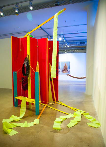 Balcony, 2012. Installation for of The Great Refusal, Sullivan Galleries, Chicago, IL